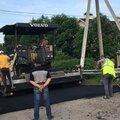 Строительство дороги из асфальтной крошки