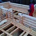 Строительство бань из бревна под ключ