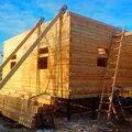 Строительство двухэтажных домов из бруса
