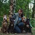 Екатерина Брагина, Выгул животных в Отрадном