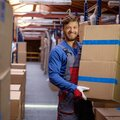 Услуги рабочих на склад
