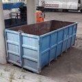 Вывоз мусора контейнером: 20 кубов