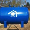 Установка газового резервуара