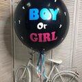 Воздушные шары на определение пола