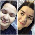 Перманентный макияж бровей (теневая техника)