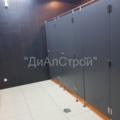 Установка туалетных перегородок