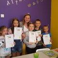 TipTopSchool, Занятие по подготовке к школе в Москве