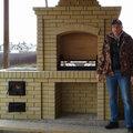 Александр Ачаков, Кладка печей и каминов в Новосибирске