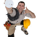 Установка системы пожарной автоматики и контроля загазованности