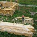 Строительство сруба из бруса