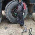 Замена колеса на запасное колесо