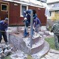 Демонтаж фундаментов