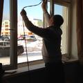 Замена уплотнительной резины на пластиковых окнах