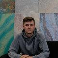 Руслан Непогода, Штукатурка стен в Минске