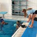 Занятие по плаванию