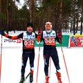Занятие по беговым лыжам: индивидуально – 2 варианта