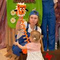 """""""Кротик и краски"""" кукольный спектакль для детей от 1 до 7 лет."""
