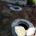 Септик Канализация из бетонных колец в Лобне