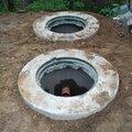 Септик под ключ из бетонных колец