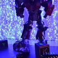 Выход гигантского робота