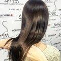 Окрашивание волос в один тон