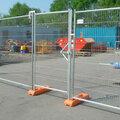 Строительство забора для строительной площадки