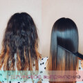 Кератиновое выпрямление волос/Безопасное наращивание волос