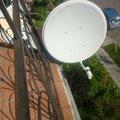 Установка спутниковой антенн
