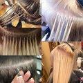 Коррекция нарощенных волос