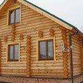 Строительство дома из бревна