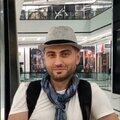 Стергос Окара, Малярные работы в Москве