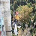 Герметизация швов при высотных работах