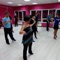 Занятие по спортивным танцам