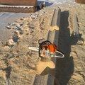 Лесопилка, Сруб из оцилиндрованного бревна в Кинельском районе