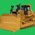 Бульдозеры: Caterpillar D6