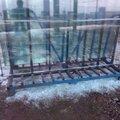 Демонтаж фасадного остекления