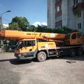 Автокран 25 тонн длинная стрела 39 метров + 6 гусёк