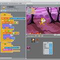 Визуальное программировнаие для детей Scratch