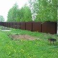 Забор из профнастила 1.8 м