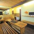 Русская баня на дровах с бассейном
