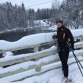 Анастасия З., Занятие по беговым лыжам в Москве