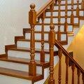 Монтаж лестничного ограждения