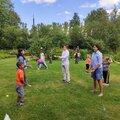 Занятия жонглированием с тренером