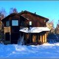 уборка снега с крыш частных загородных домов и коттеджей