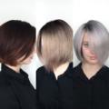 Выведение волос из темного цвета в блонд