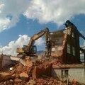 Демонтаж деревянных сооружений
