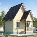 Строительство дома из бруса по Проекту 3
