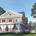 Дизайн фасада (экстерьера) дома