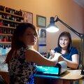 Наталья Лисунова, Коррекция наращенных ногтей в Краснодарском крае
