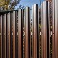 Забор из металл.штакетника